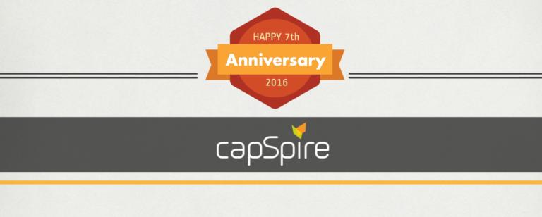 capSpire Celebrates its Seventh Anniversary