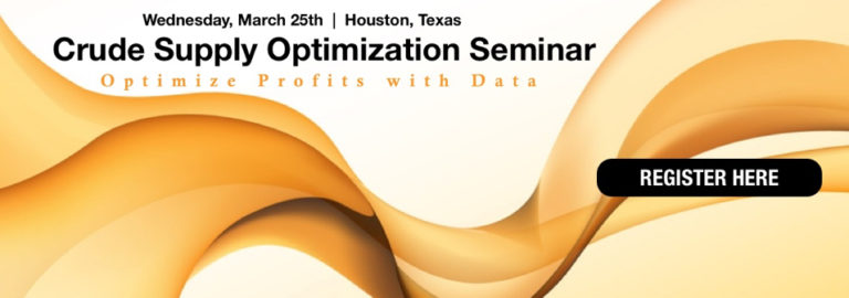 Crude Supply Optimization Seminar with capSpire and Genscape
