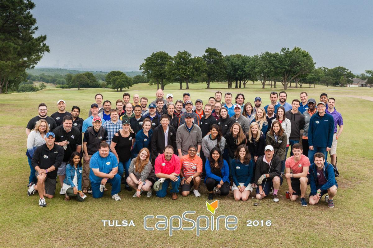 capspire team eighth anniversary