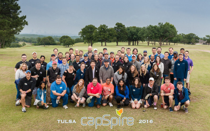 capspire team eighth anniversary